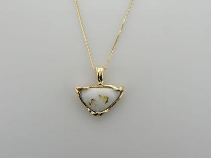 Image de Pendentif quartz aurifère