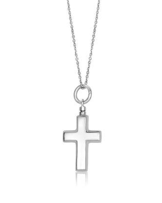 Image de Urne funéraire croix en argent 925 de la Collection Larus