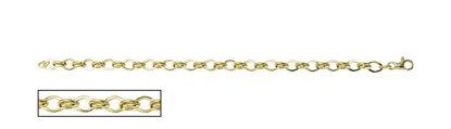 """Image de Bracelet de Fantaisie 7 1/4"""" en or jaune"""